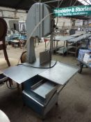 Butchers Boy band saw with new spare blade 415v