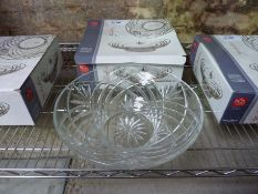 New Melodia crystal bowl centrepiece