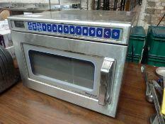 Merrychef microwave