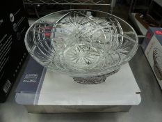Melodia crystal centre bowl