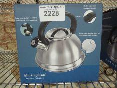 Buckingham whistling kettle