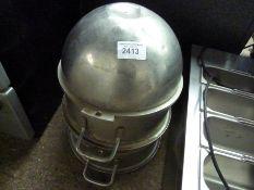 Two 30L mixer bowls