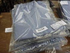 Seven pairs of chefs trousers, size Large