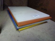 Six chopping boards