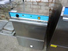 Aquatic single phase commercial glasswasher