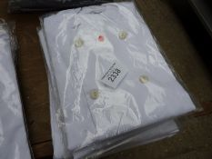 Four chefs jackets, Size Large