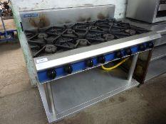 Blue Seal 8 burner gas cooker