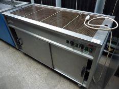 Moffat heated display with warming cupboard
