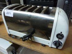 Dualit six slice toaster
