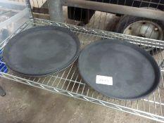 Four trays