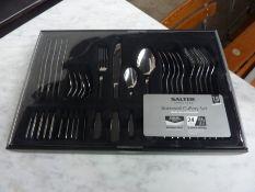 Salter Bakewell 24 piece cutlery set