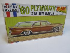 60s Plymouth Station Wagon by Jo-Han