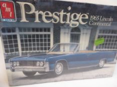 Prestige 1965 Lincoln Continental and a '66 Mustang hardtop