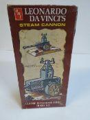 Leonardo Da Vinci's Steam Cannon kit by AMT