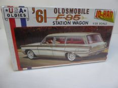 61 Oldsmobile F-85 Station Wagon by Jo-Han