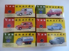 6 x Vanguards die-cast models