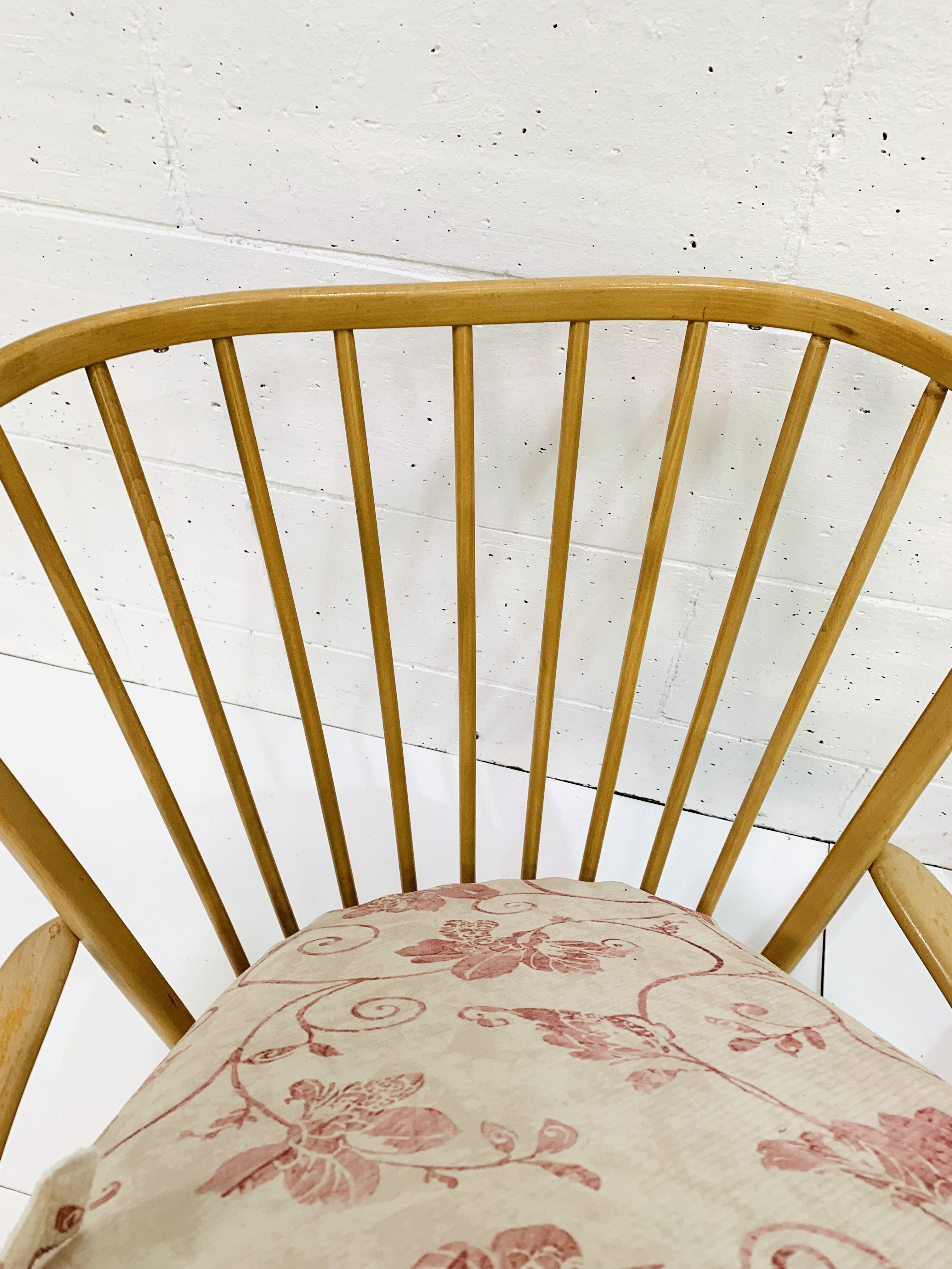 Pair of Ercol rail back armchairs - Image 3 of 4
