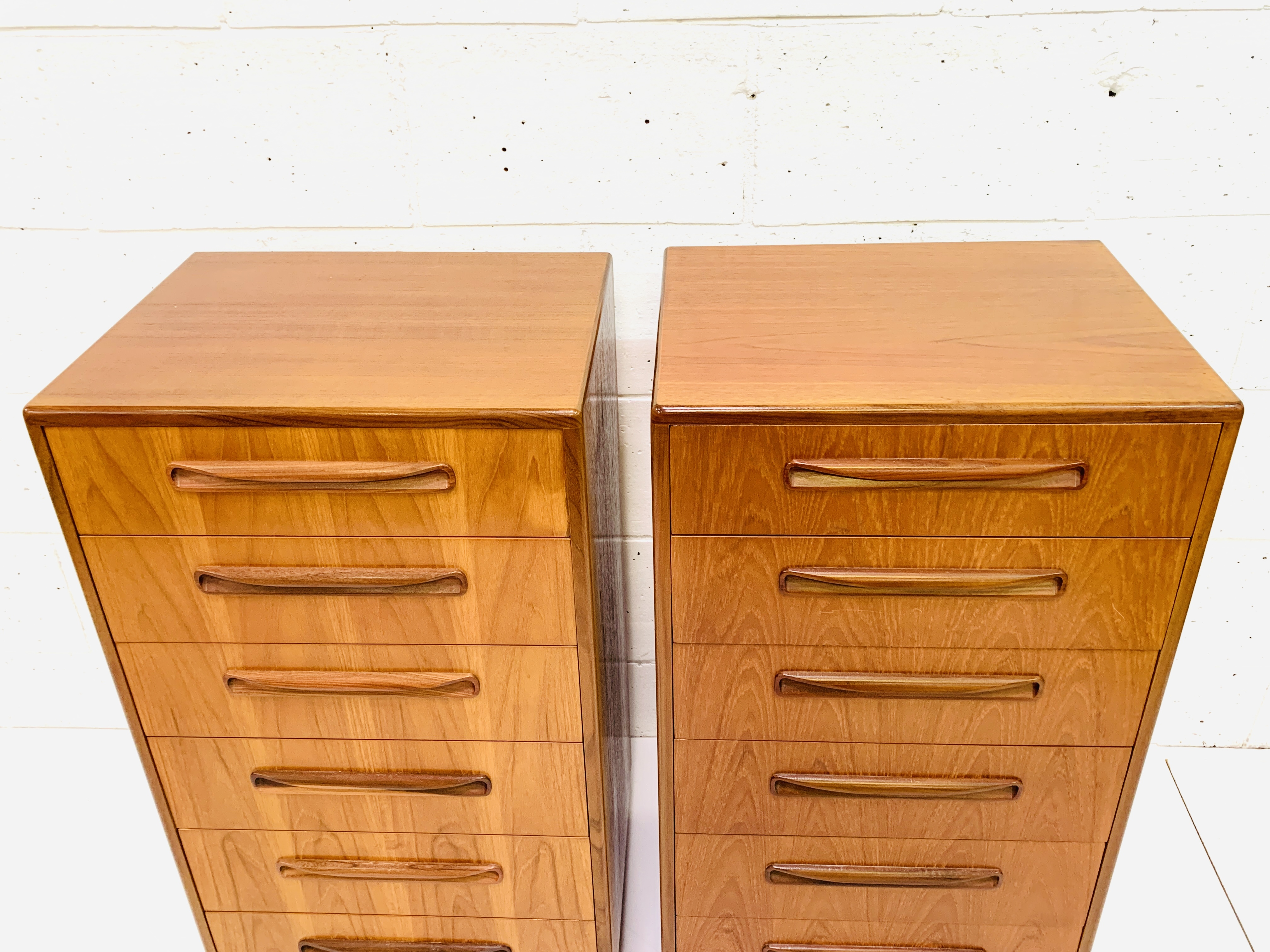 Two G-plan chests of six drawers - Image 5 of 6