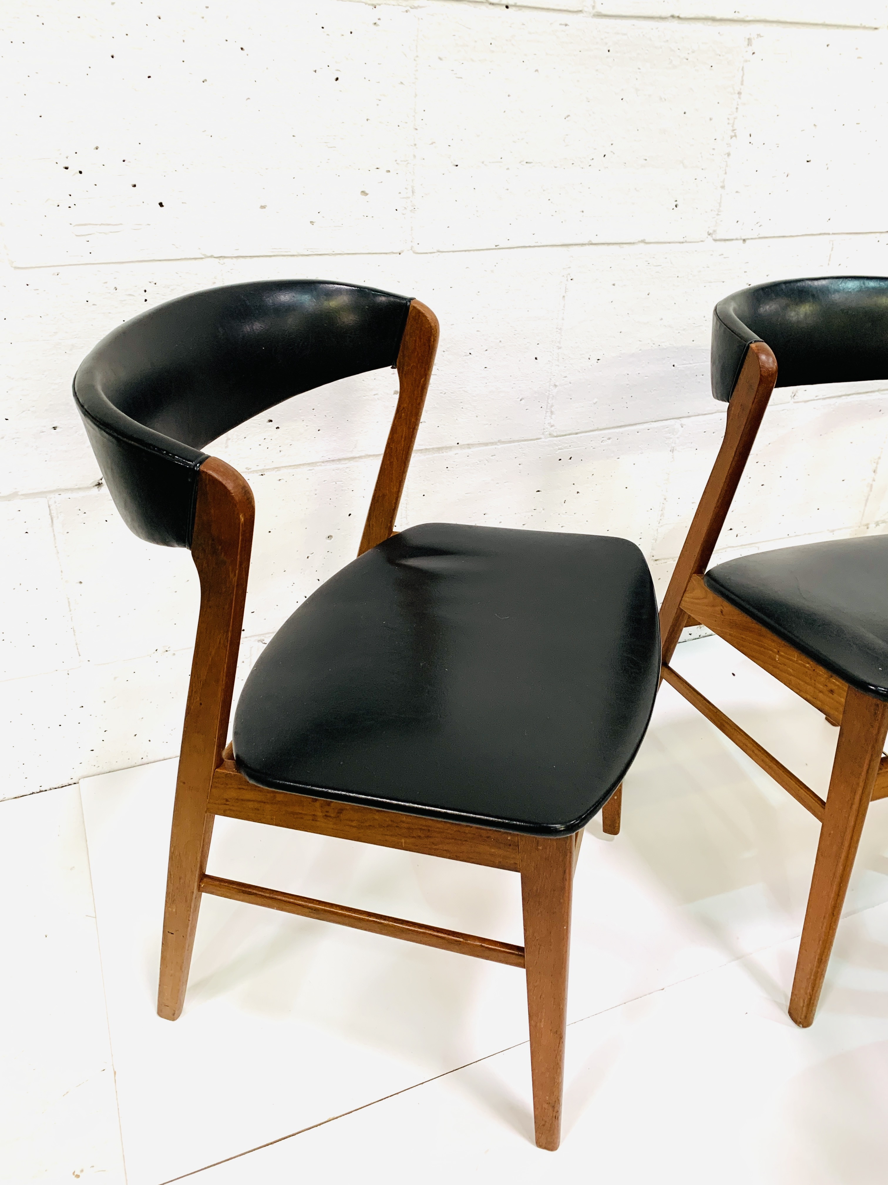 Six 1960's teak framed chairs - Image 3 of 7
