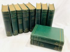 The Cambridge Natural History, 10 volume set published 1895-1913