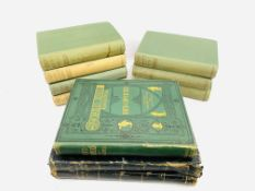 10 Volumes of the Works of Charles Dickens