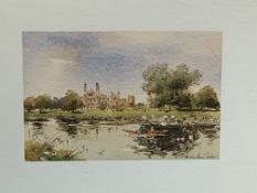 Pair of framed and glazed watercolours signed Gerald Edward Tucker