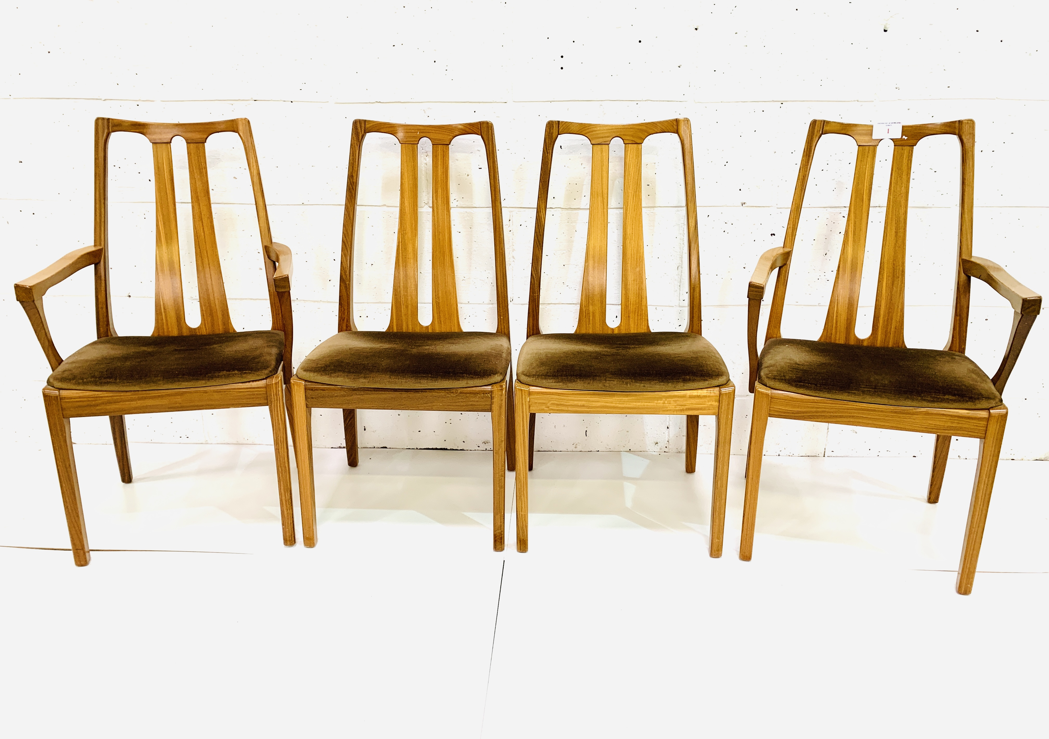 Group of four Nathan Furniture chairs - Image 6 of 6