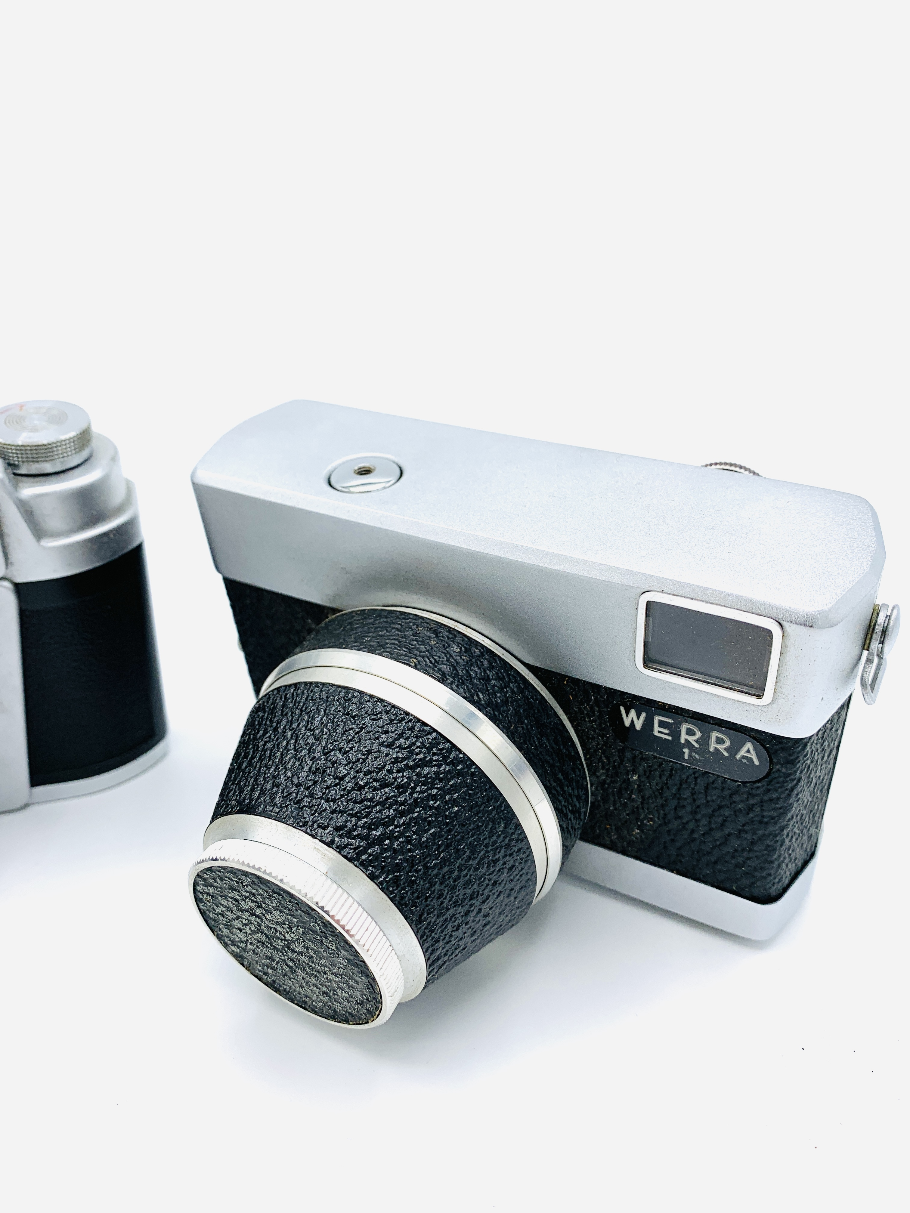 Leidolf, Wetzlar, Lordomat SLE camera, together with a Werra 1 camera - Image 3 of 4
