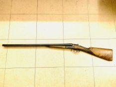 AYA Model 3 12 bore side by side double barrel shotgun