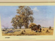 "David Shepherd limited edition print 108/500 ""Life Goes On"""