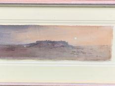 John Bastin watercolour of a French scene