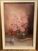 "Elio Vitali oil on canvas """"Rose"""""