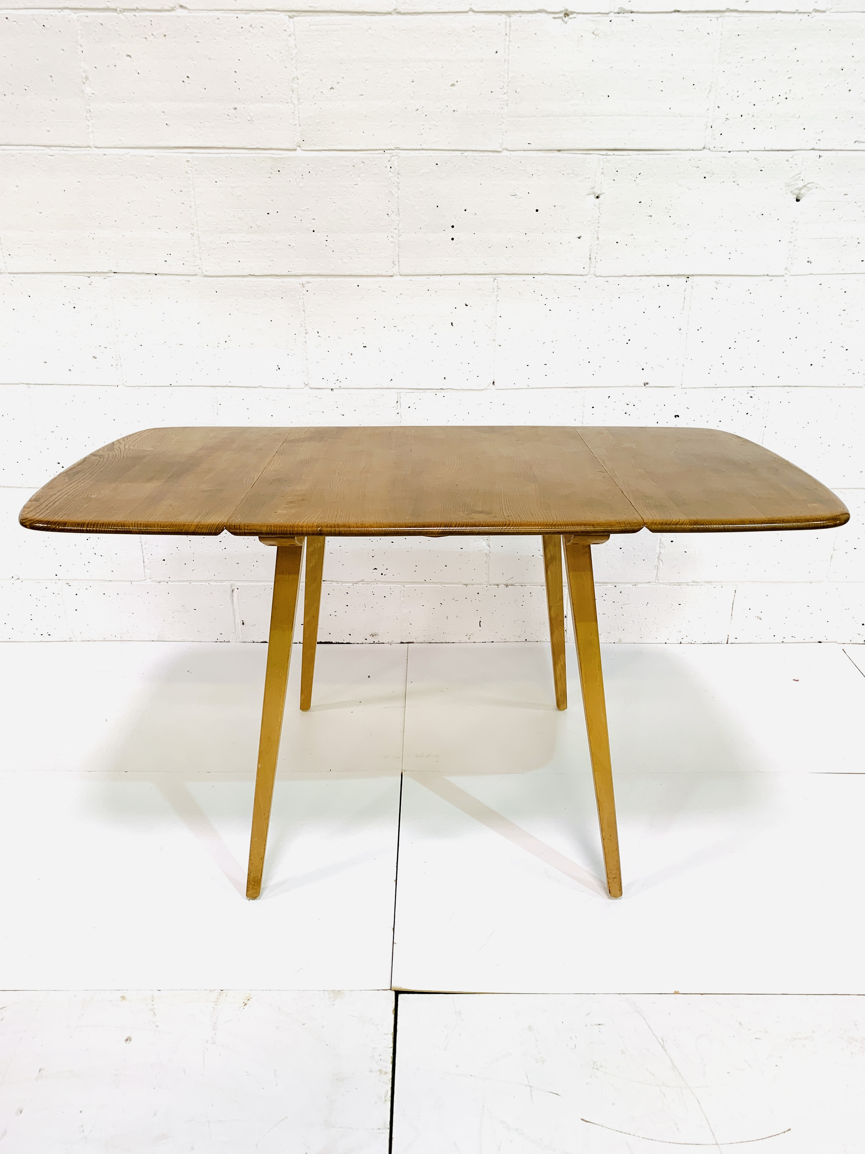 Ercol dropside table - Image 3 of 7