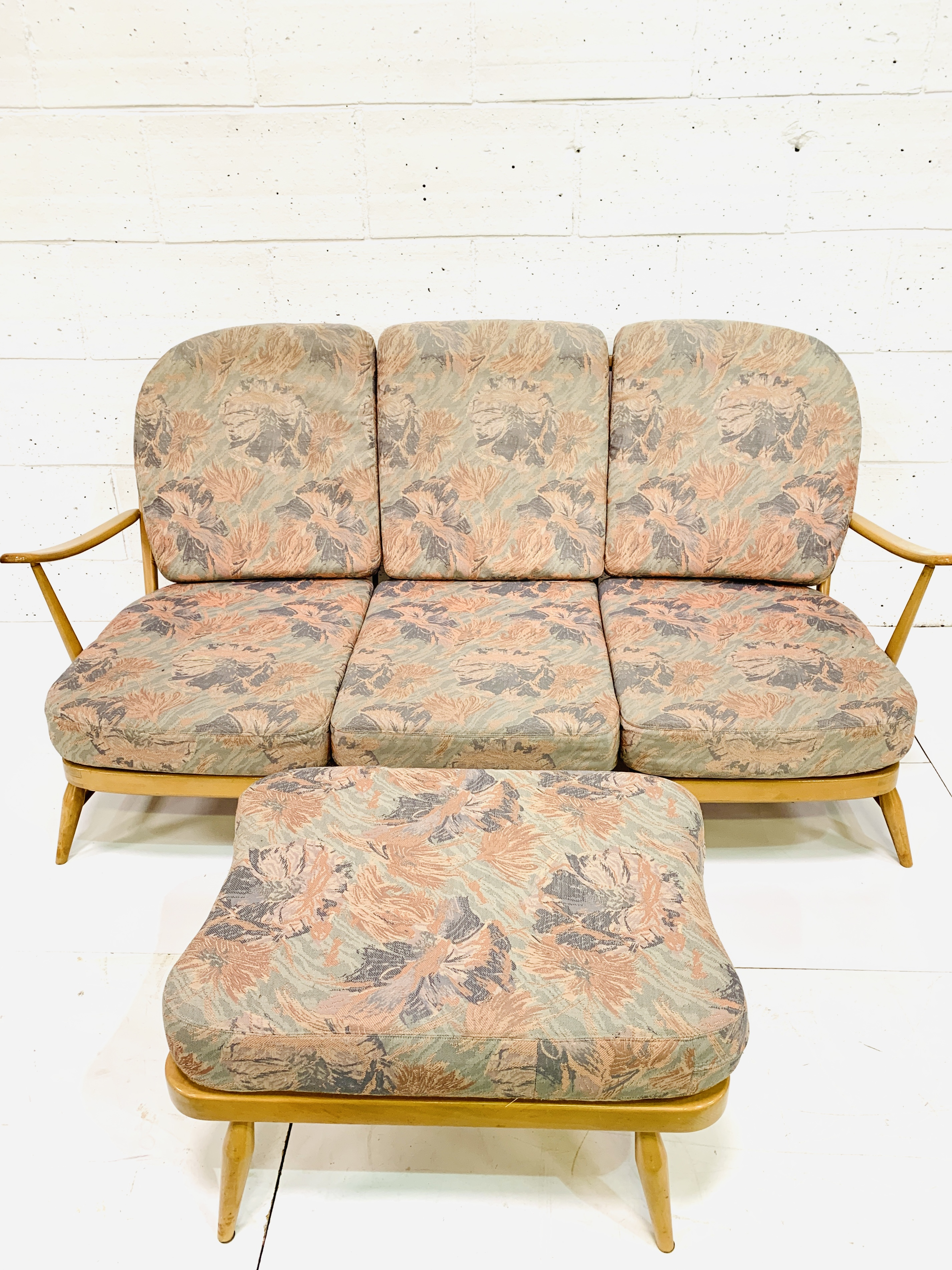 Ercol three seat sofa