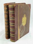 Two large quarto books on Queen Victoria