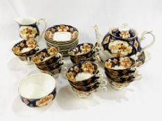 Royal Albert bone china Heirloom tea service, 30 pieces