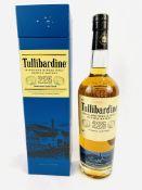 70cl bottle of Tullibardine 225 single malt Scotch Whisky