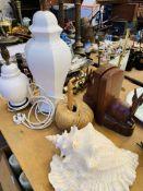 Quantity of metalware and tableware