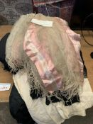 Items of Victorian ladies' clothing