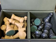 Chess set in a case