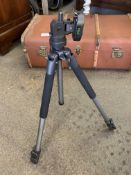 Calumet camera tripod and soft case.
