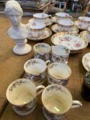 Copeland, Royal Worcester and Royal Doulton china