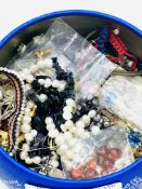 A quantity of assorted jewellery including silver and gemstones