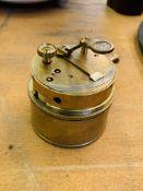 T Cooke, London, brass box sextant