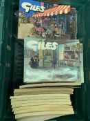 Approximately 46 Giles annuals