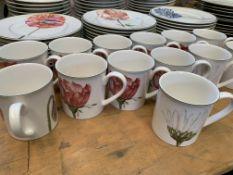Large quantity of Villeroy & Boch dinnerware