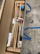 Townsend croquet set in box