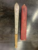 Hand forged African machete