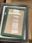 Silver hallmarked photograph frame and various Jarrold frames