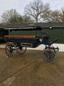 WAGONETTE built by a well-known Dutch builder to seat 16 people. Suits a full size pair or team.